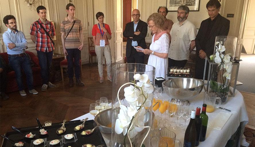 Réception De Doctorants Franco-américains à L'IFA