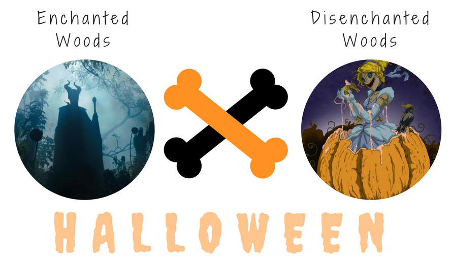 Halloween | Enchanted Woods ✖ Disenchanted Woods