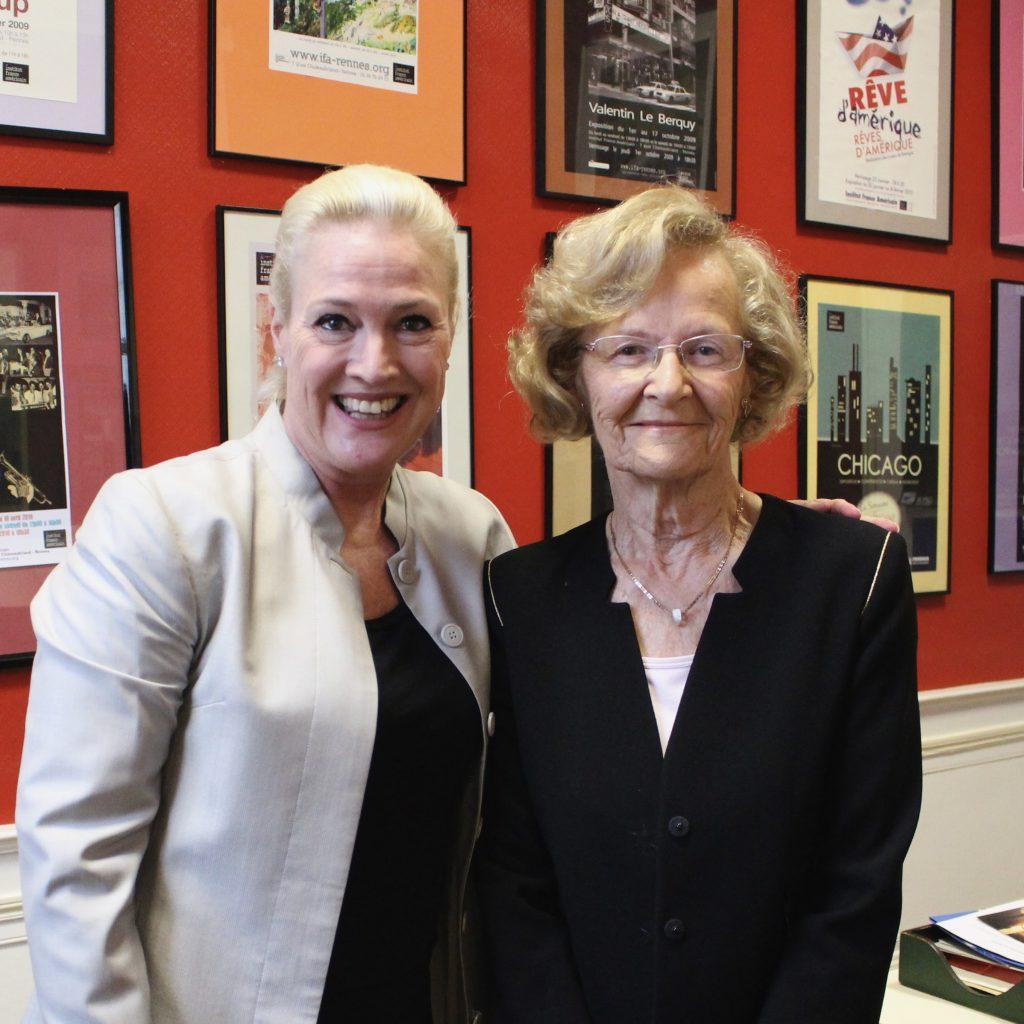 Angela Aggeler Et Liliane Kerjan