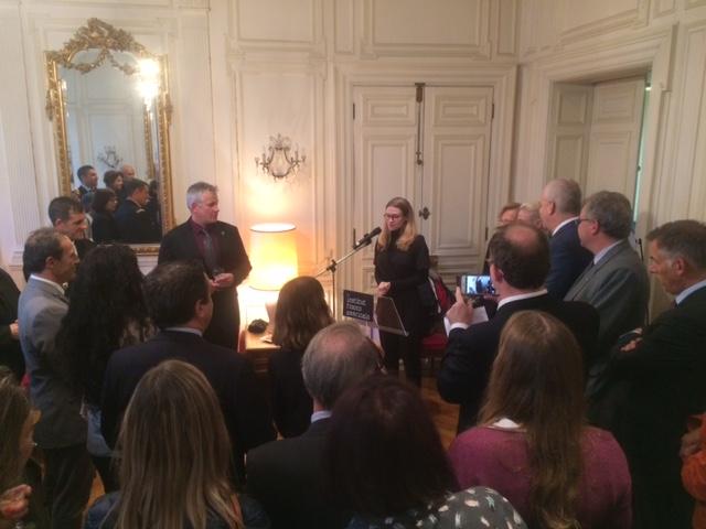 Discours Du Consul Des Etats-Unis Pour Le Grand Ouest - Sara Harriger