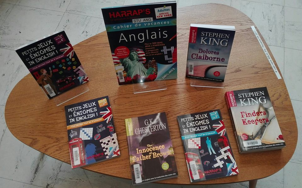 Livre Bibliotheque Anglais Rennes