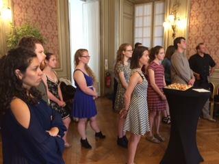 Journée D'accueil Des étudiants à L'Institut Franco-américain