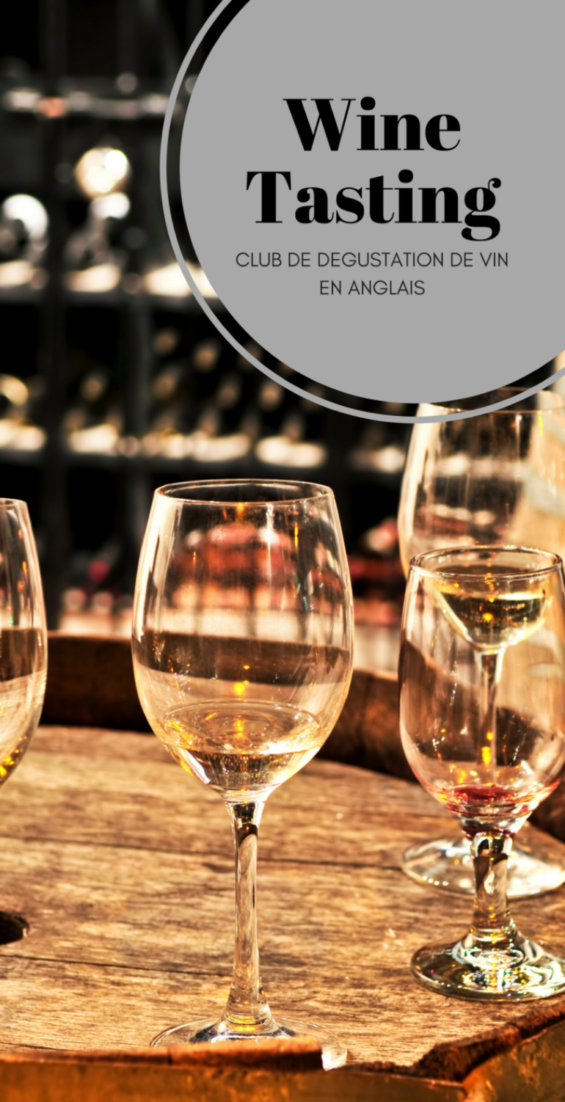 Wine Tasting Club In English /► June 5 At 7pm