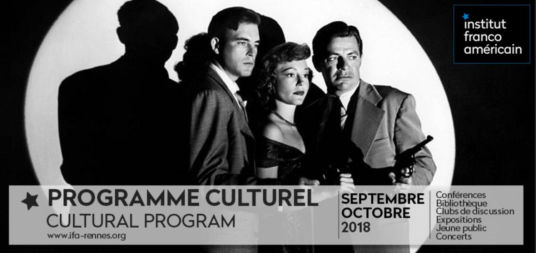 Présentation Du Programme Culturel 2018-2019 De L'Institut Franco-américain