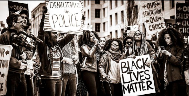 Mouvement Blak Lives Matter Etats Unis