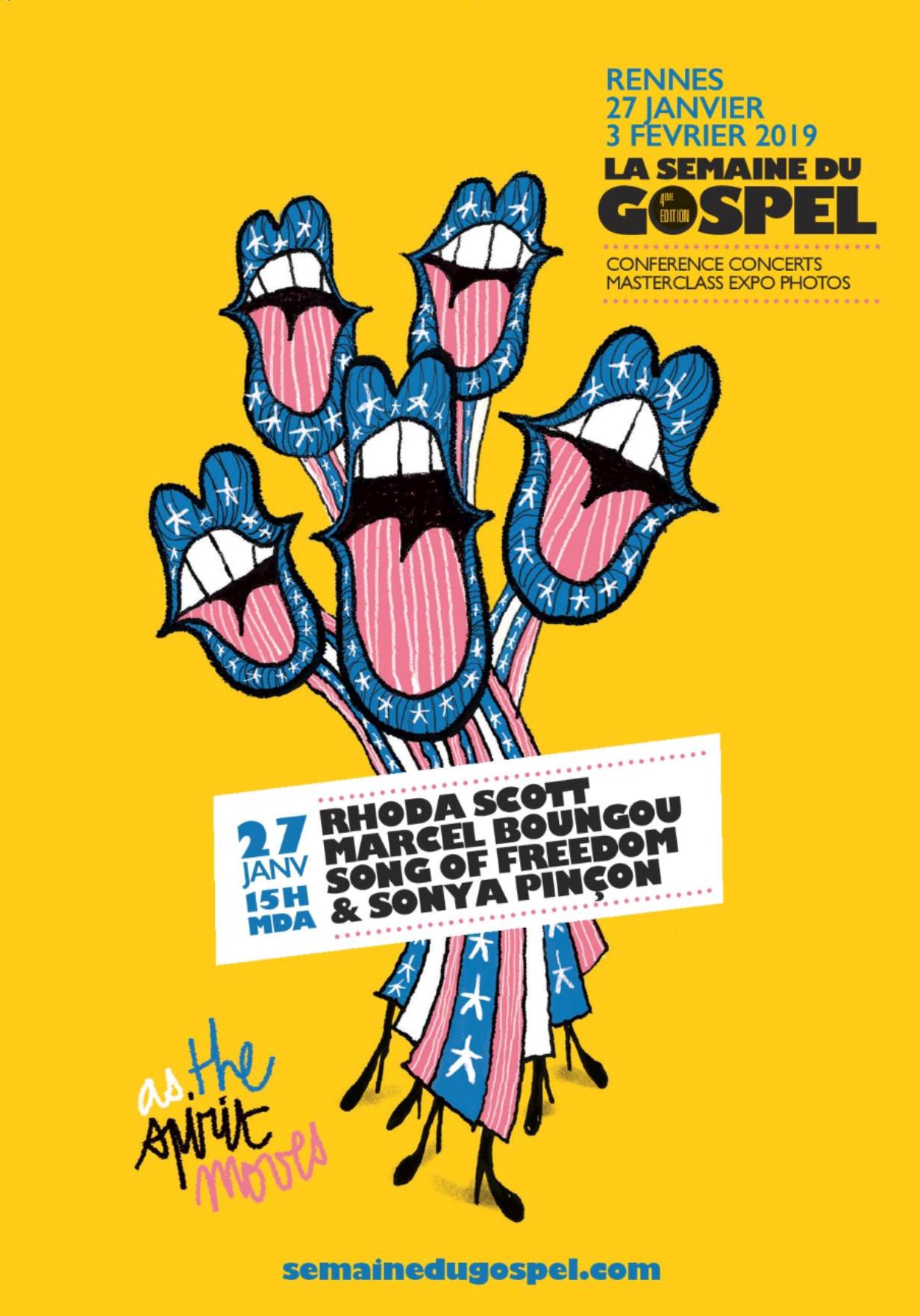 Visuel Semaine Du Gospel 19