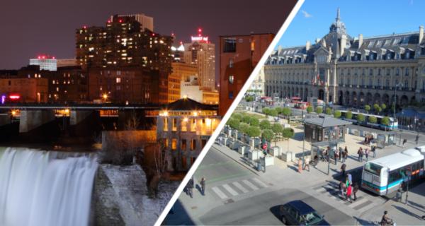 """8 Janvier Au 1er Juin /► Concours De Dessin """"Rennes-Rochester : Sister Cities"""""""