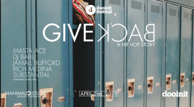 Mardi 2 Avril – 20h30 /► Give Back [Festival Dooinit 10 Ans]