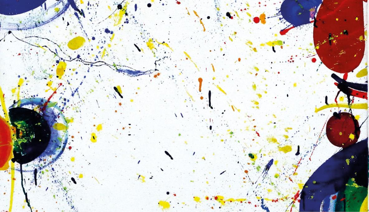 Peinture Abstraite De Sam Francis