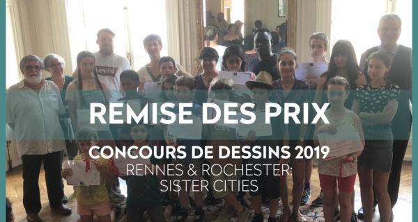 REMISE DES PRIX Et LAUREATS – Concours De Dessin IFA 2019