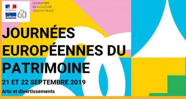 Samedi 21 Septembre ★ Journée Du Patrimoine 2019 : Welcome To Visit!