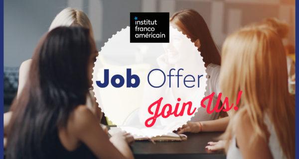 Job Offer! Nous Recherchons Notre Prochain Animateur Et Organisateur Des Clubs De L'IFA