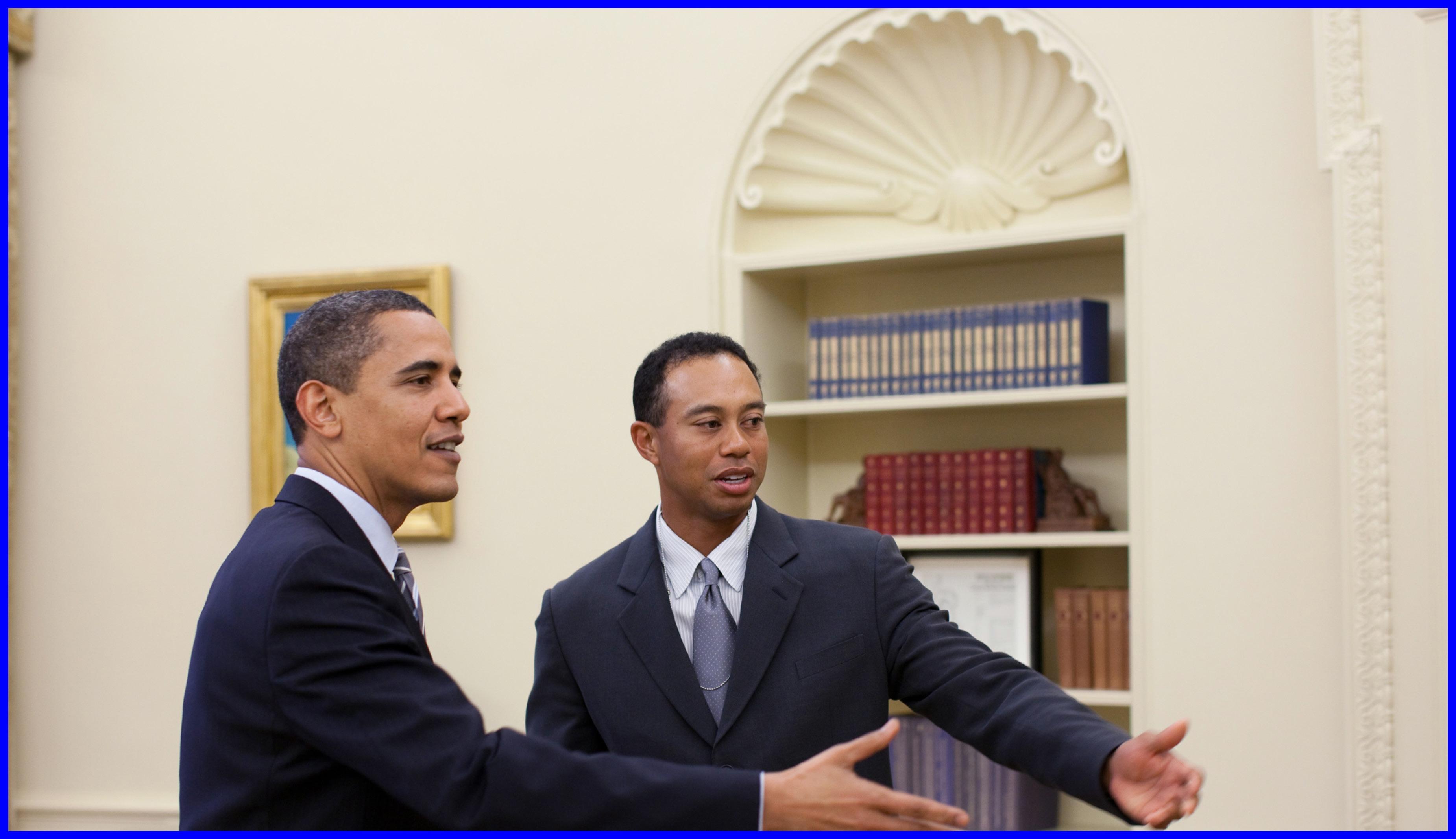 Woods & Obama