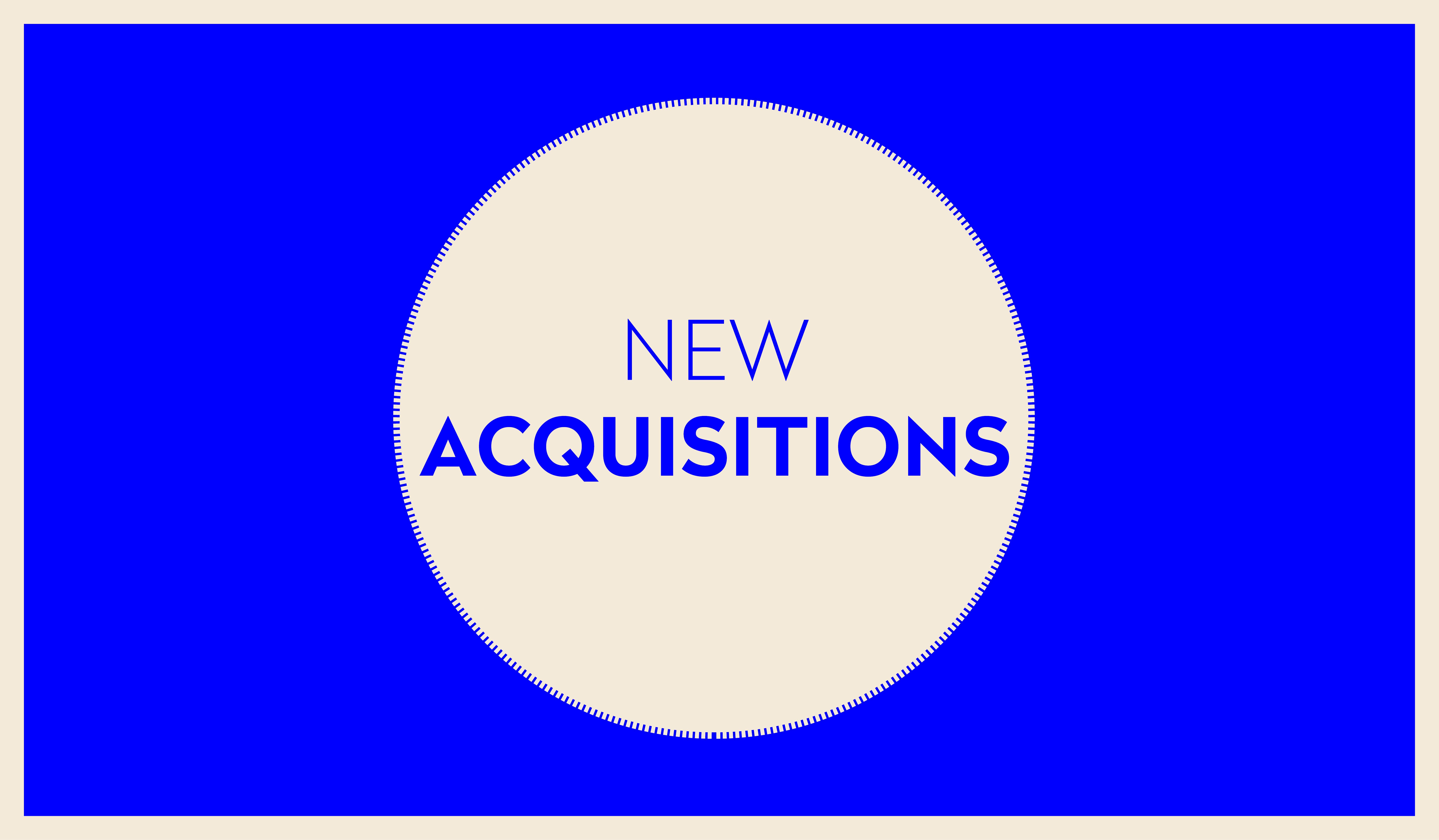 NEW ACQUISITIONS | OCTOBRE 2019 ★ 2