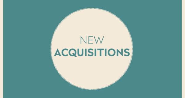 NEW ACQUISITIONS | FÉVRIER 2020