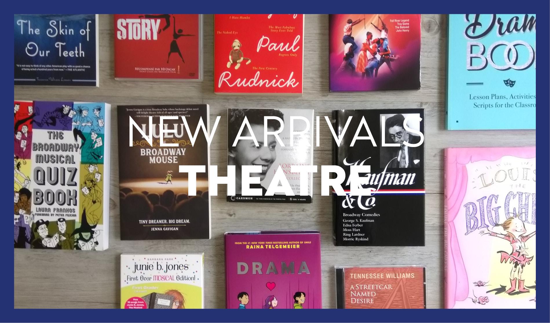 Nouvelles Acquisition Anglophone Théâtre