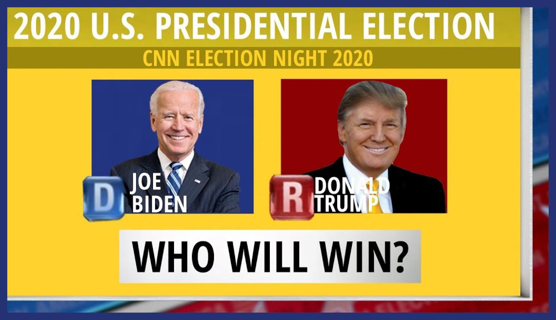Matinée Des élections Présidentielles Américaines 2020